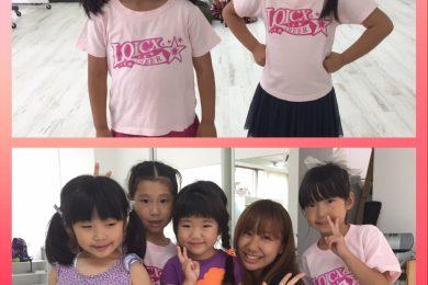 7月 LOICX☆チアダンススクール 名古屋 最後