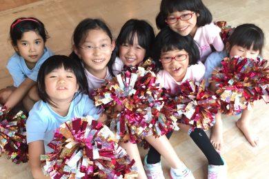 5月 LOICX☆チアダンススクール くずはローズ幼稚園