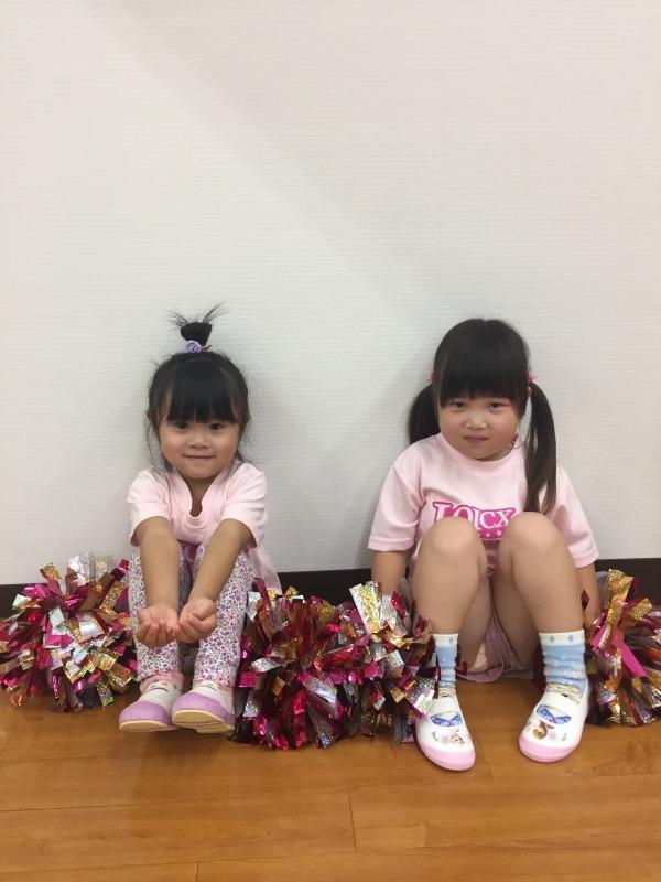 7月 LOICX☆チアダンススクール 守山志段味 成長した姿