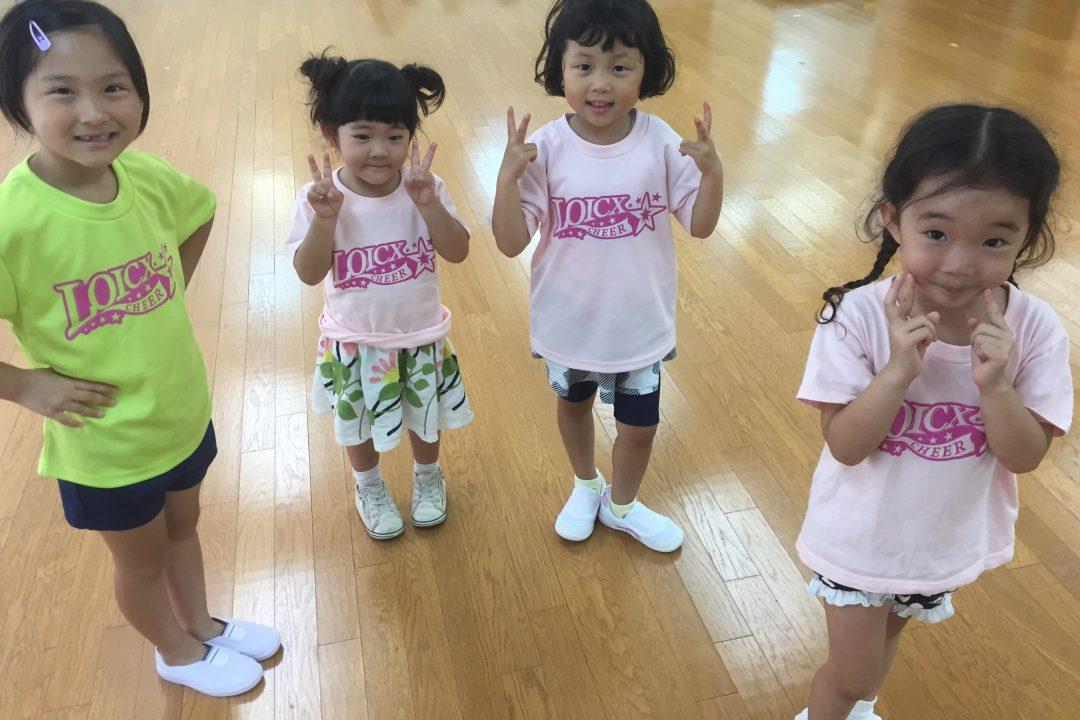 8月 LOICX☆チアダンススクール 本山 できる!