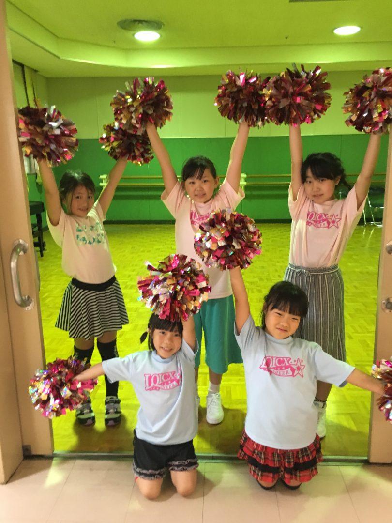 6月 LOICX☆チアダンススクール 横浜若葉台校