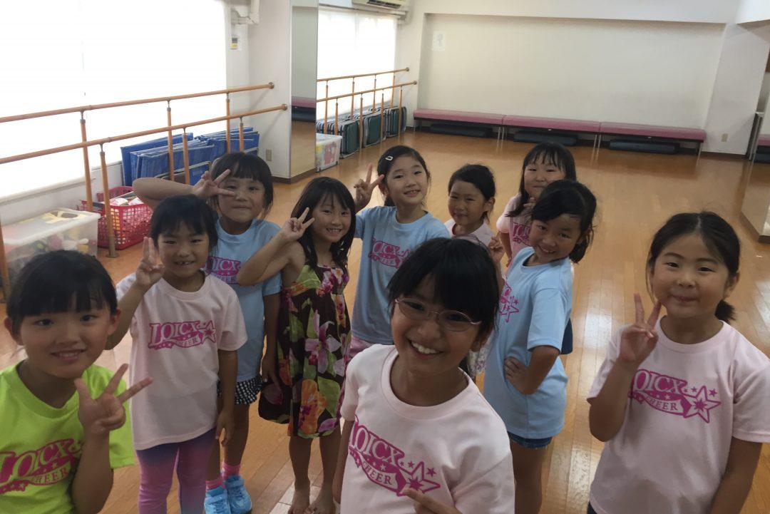 8月 LOICX☆チアダンススクール 本山