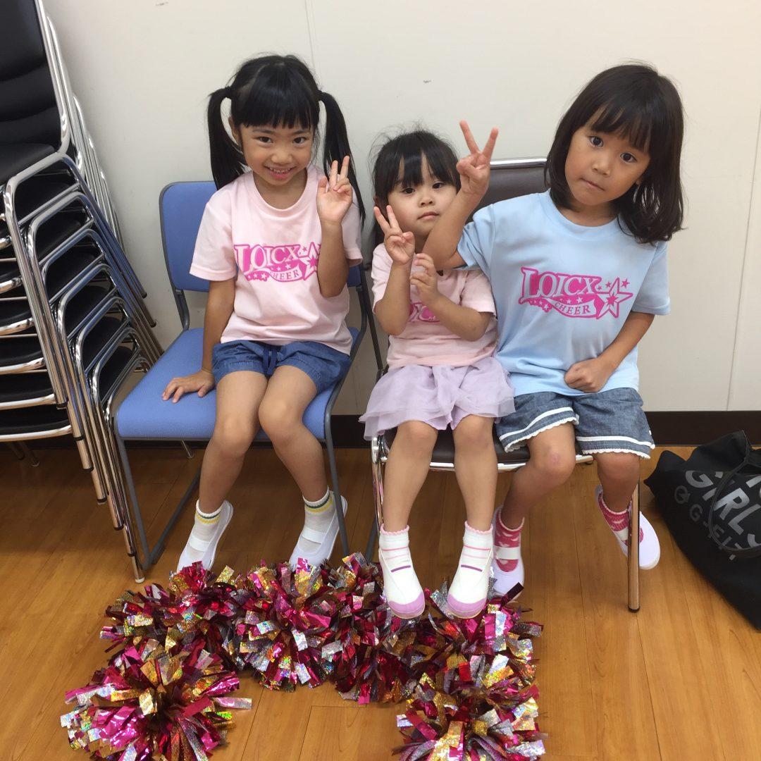8月 LOICX☆チアダンススクール 守山志段味 細かいところ