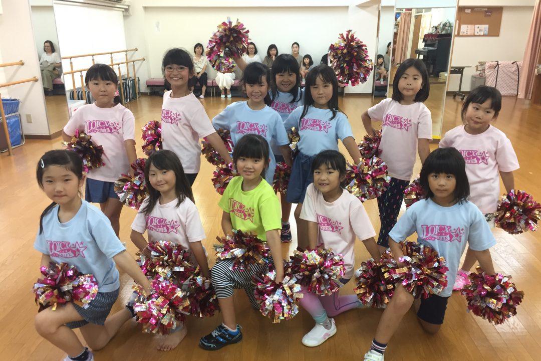8月 LOICX☆チアダンススクール 本山 キラキラさん