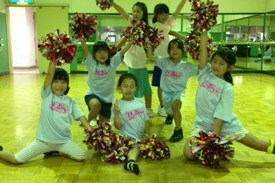 7月 LOICX☆チアダンススクール 若葉台