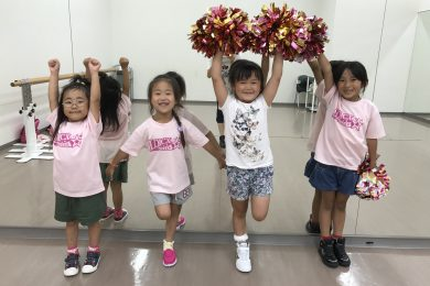 7月 LOICX☆チアダンススクール むさし村山校