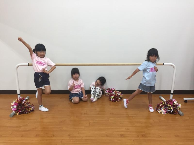 9月 LOICX☆チアダンススクール 守山志段味 揃うこと