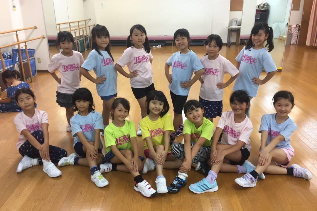 10月 LOICX☆チアダンススクール 本山 つらい時こそ笑顔