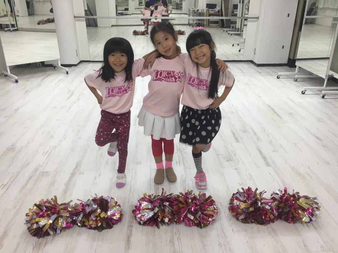 10月 LOICX☆チアダンススクール 名古屋 最初から