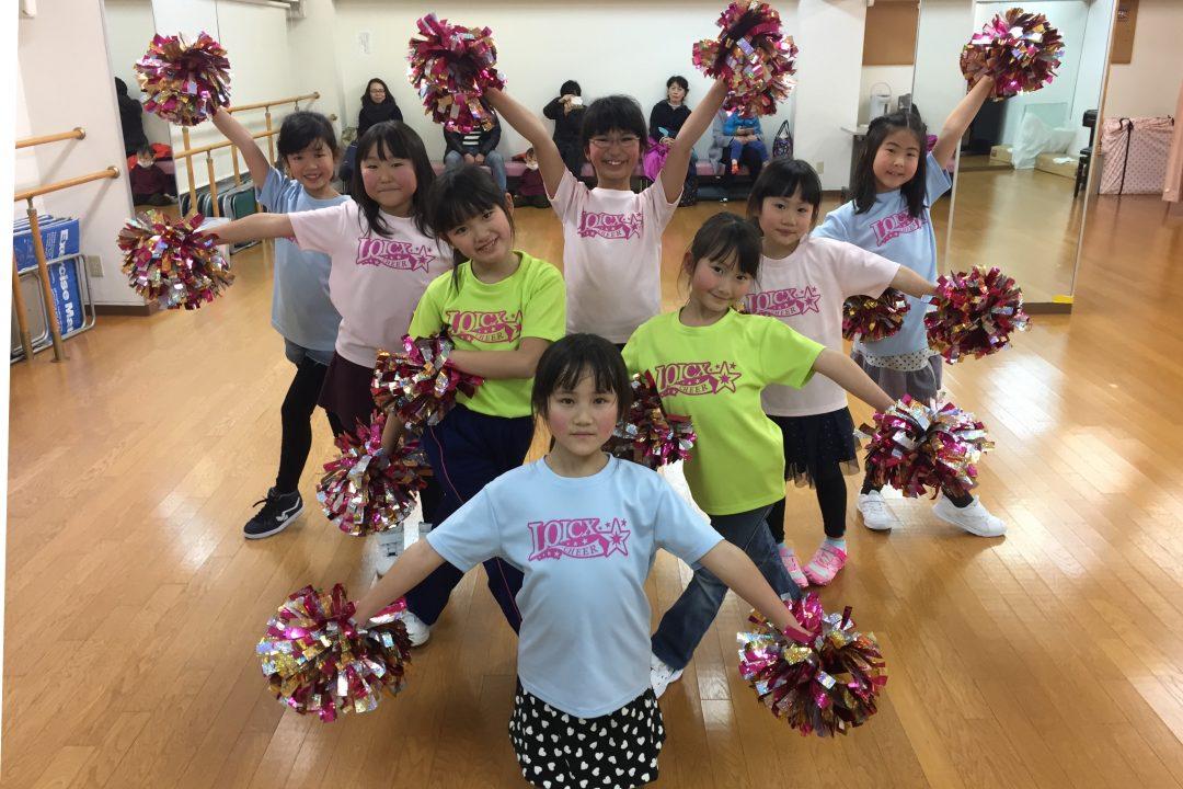 1月 LOICX☆チアダンススクール 本山 チアリーダー