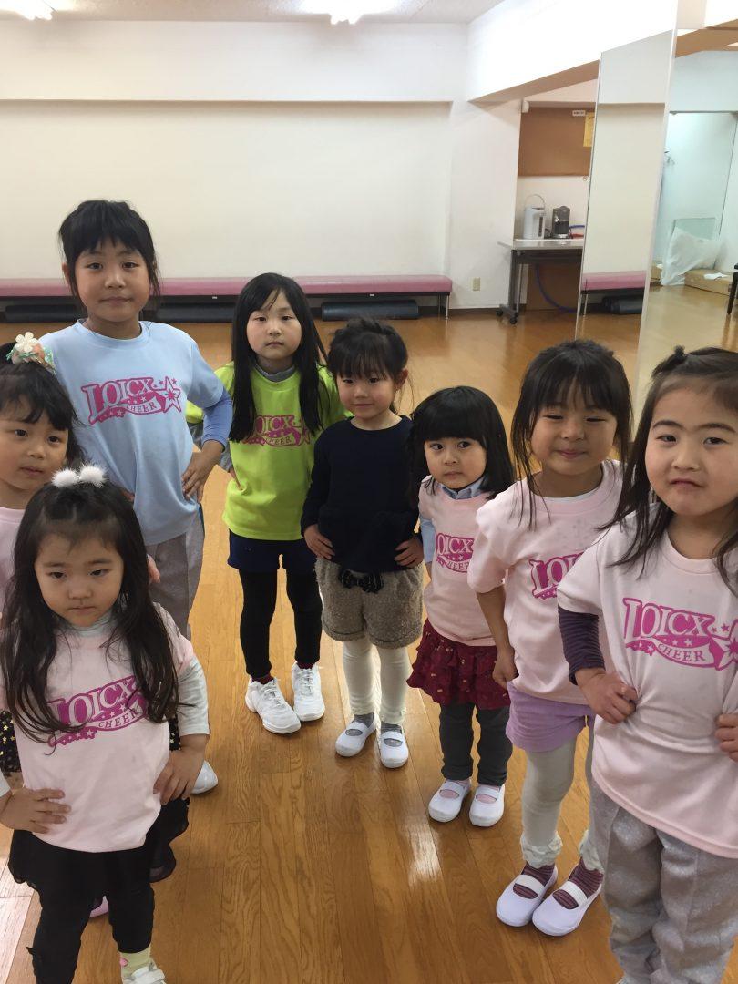 LOICX☆チアダンススクール 本山 集中力