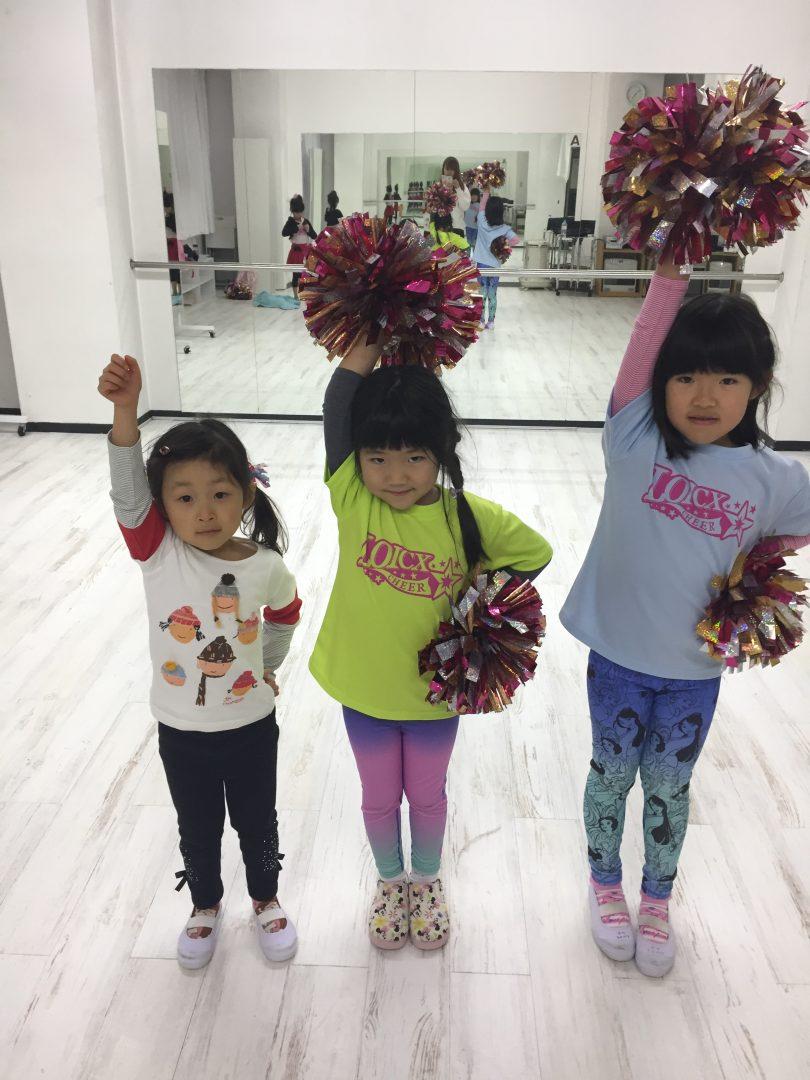 LOICX☆チアダンススクール 名古屋 1月 決めつけない